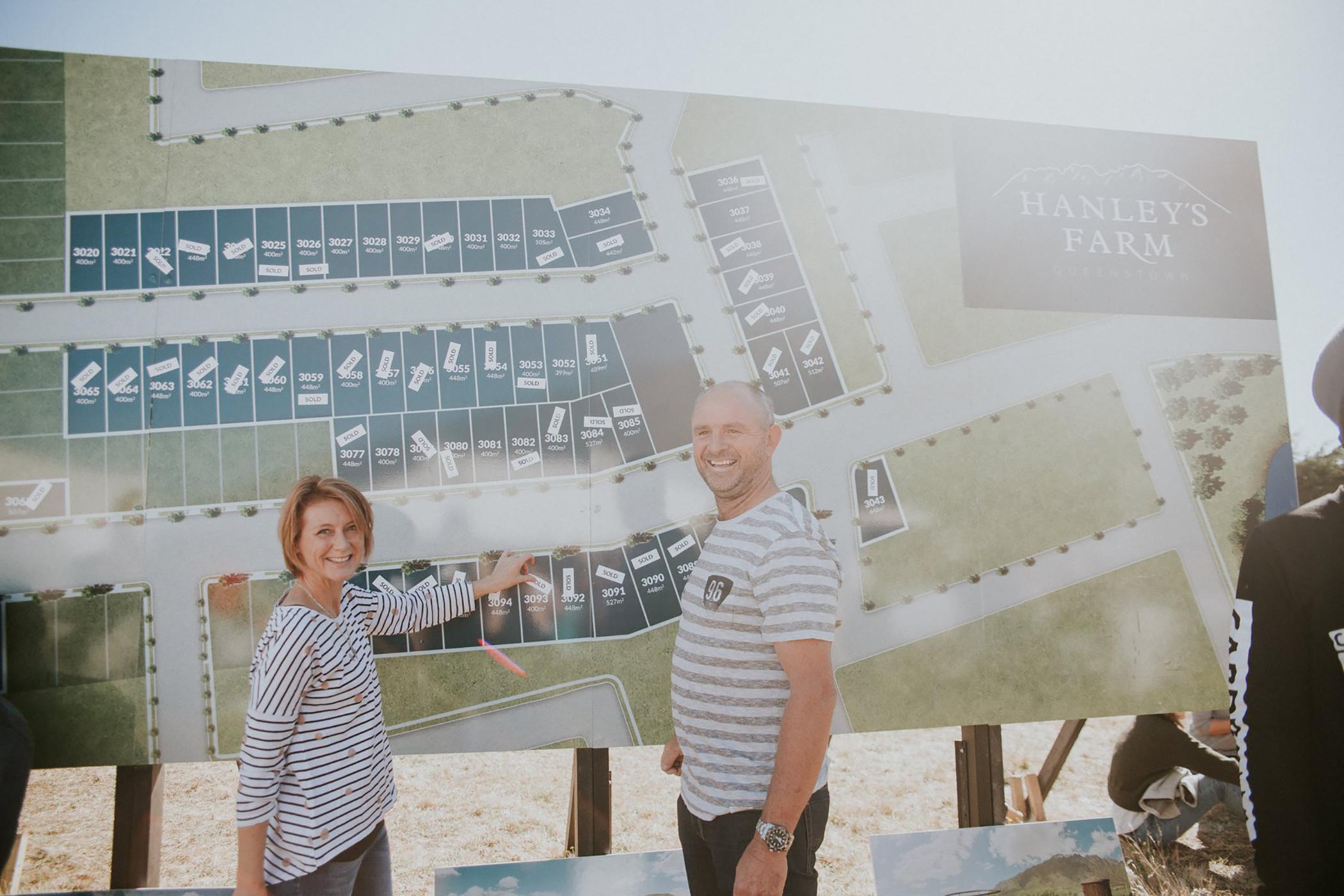Hanleys Farm Masterplan Billboard 2