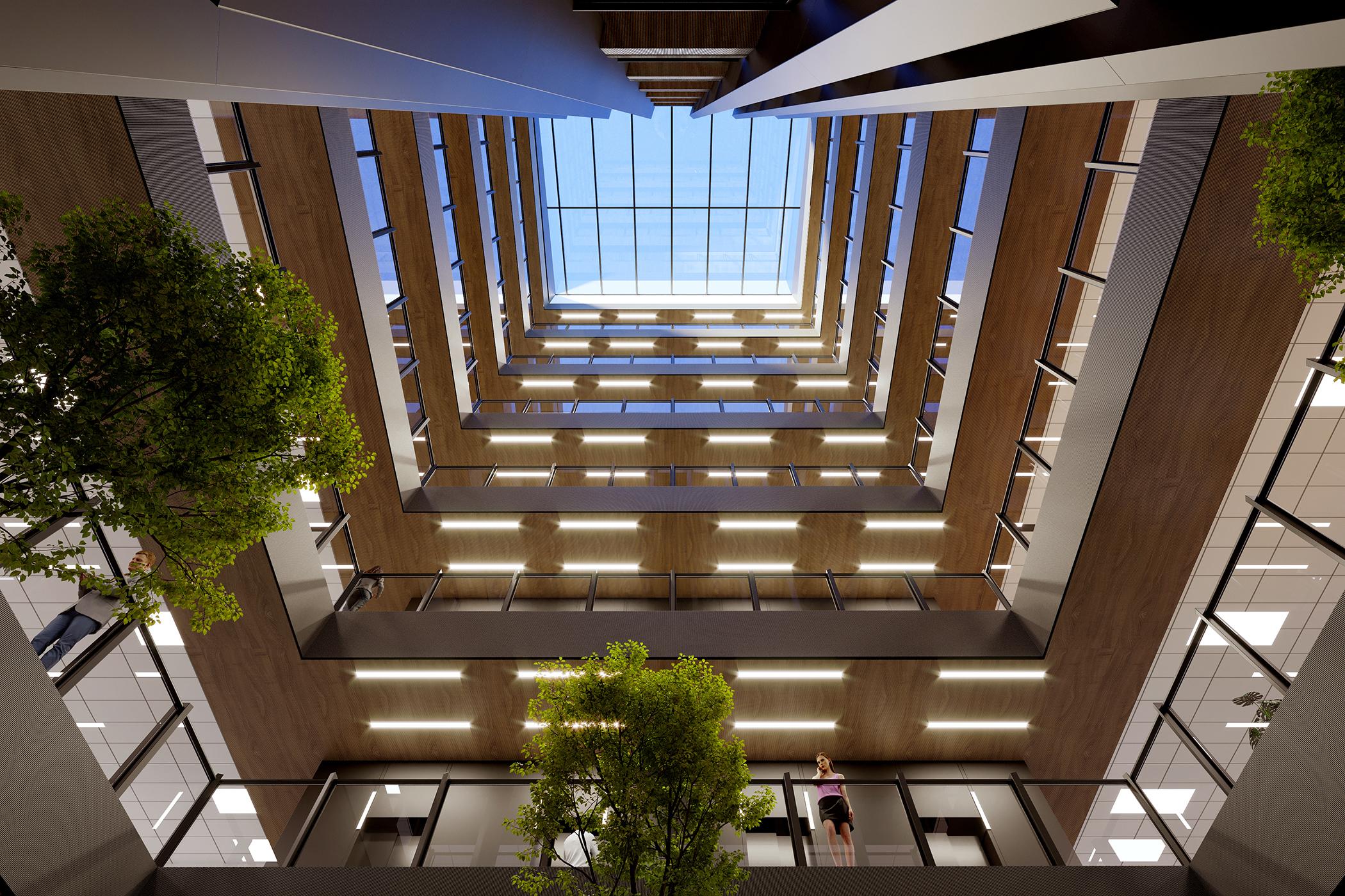 110 Carlton Gore Road Atrium