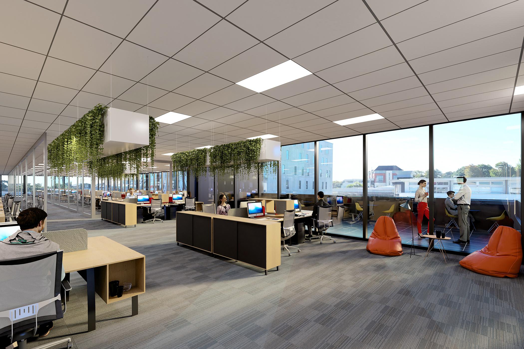 110 Carlton Gore Road Office