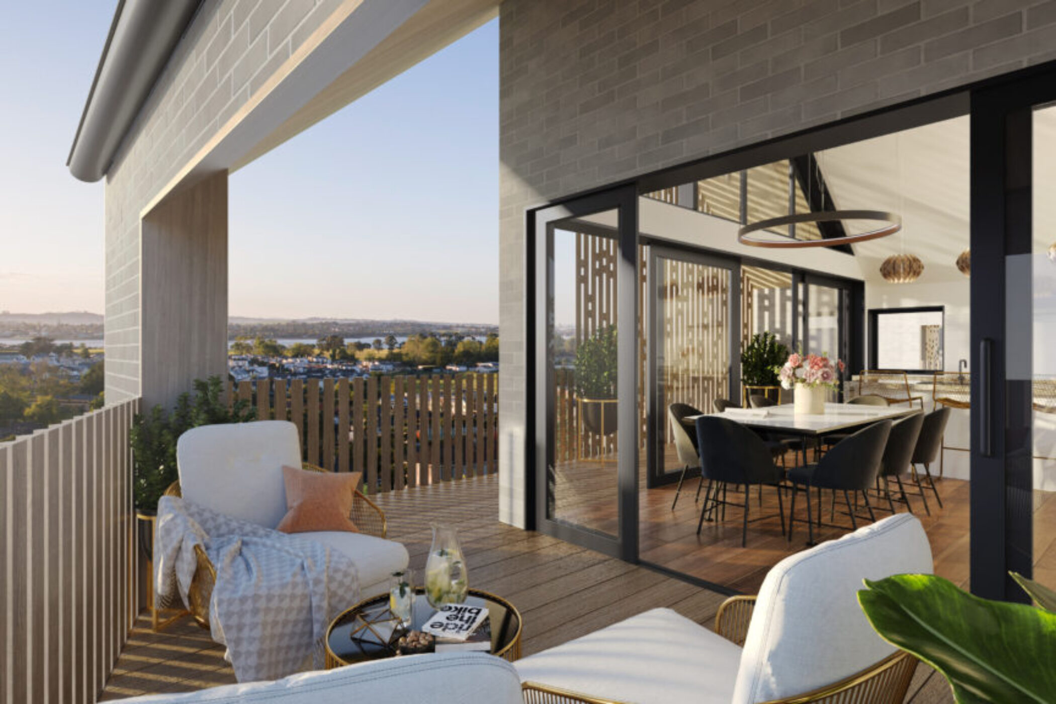 Overlea North Balcony 3D Render